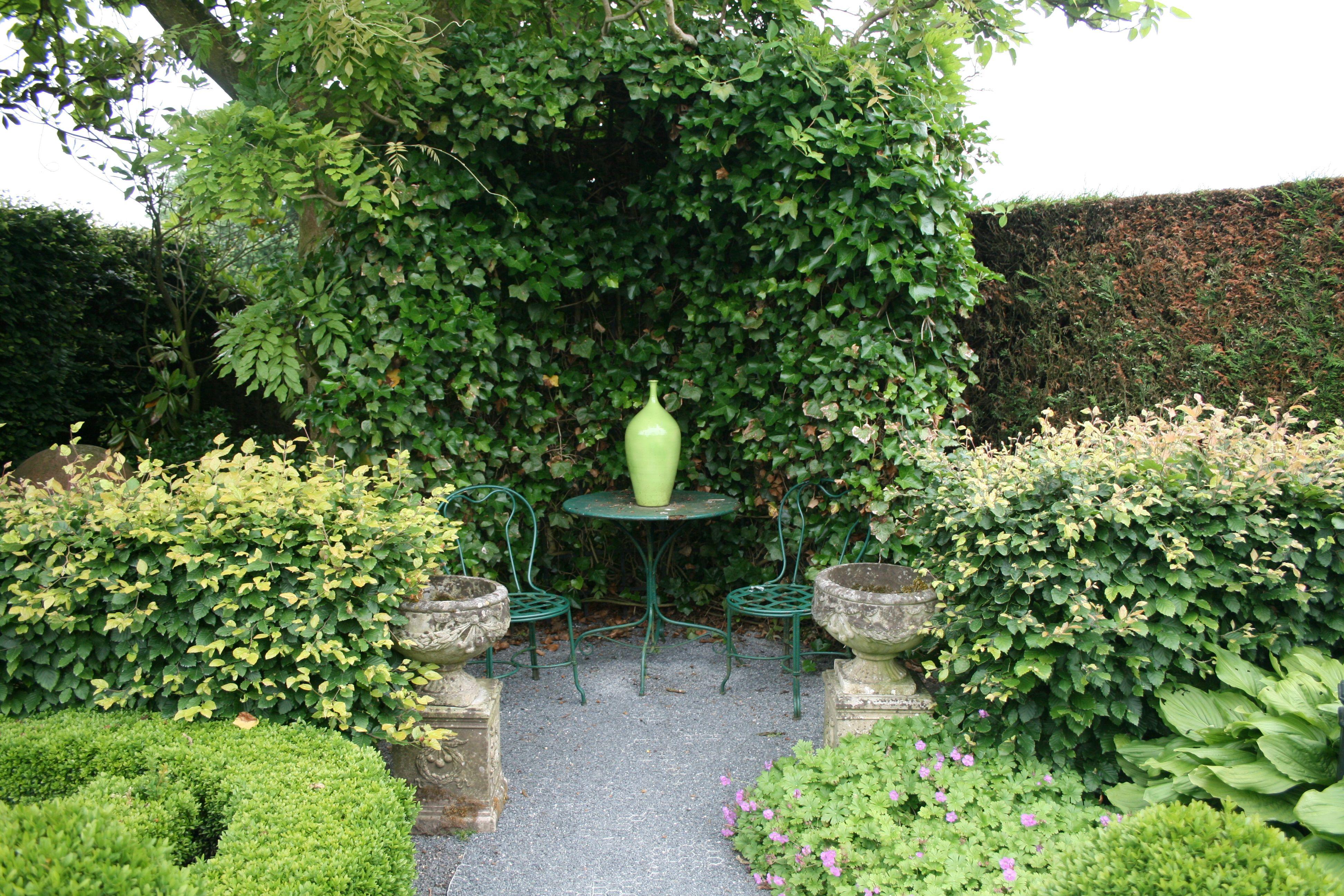Betonamphoren Gartenreise Holland Belgien Garden Hedges Shrubs