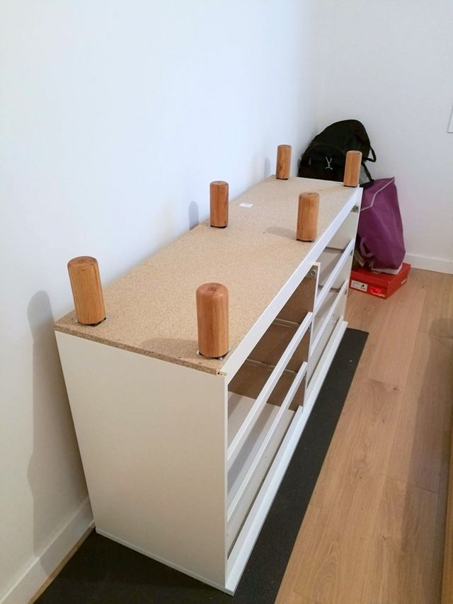 Mind the gap: Fit IKEA MALM over a tall baseboard