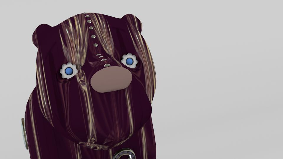 Modelado 3d oso.