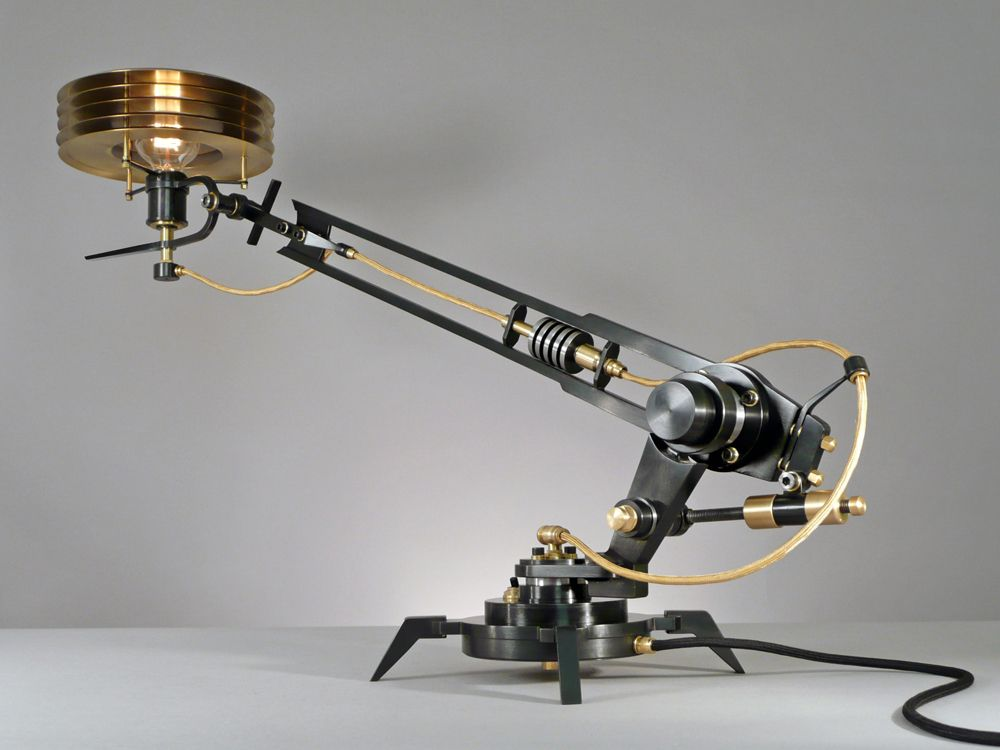 Fabulous FRANK BUCHWALD MACHINE LIGHTS Exclusive design of lamps and light objects