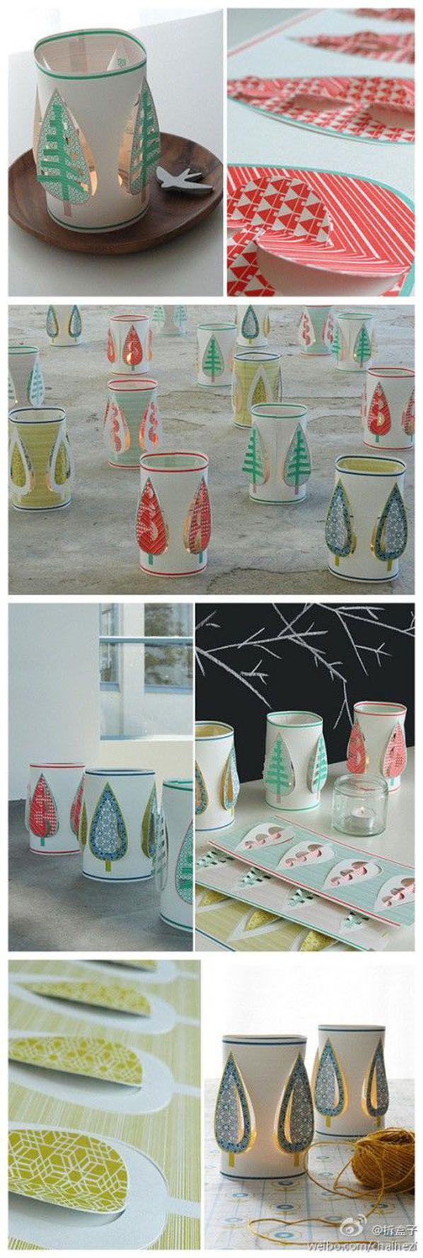 So beautiful paper craft diy crafts tutorials for Paper lantern tutorial