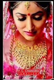 Image Result For Pc Chandra Jewellers Bridal Jewellery Indian Bridal Gold Jewellery Designs Gold Necklace Indian Bridal Jewelry