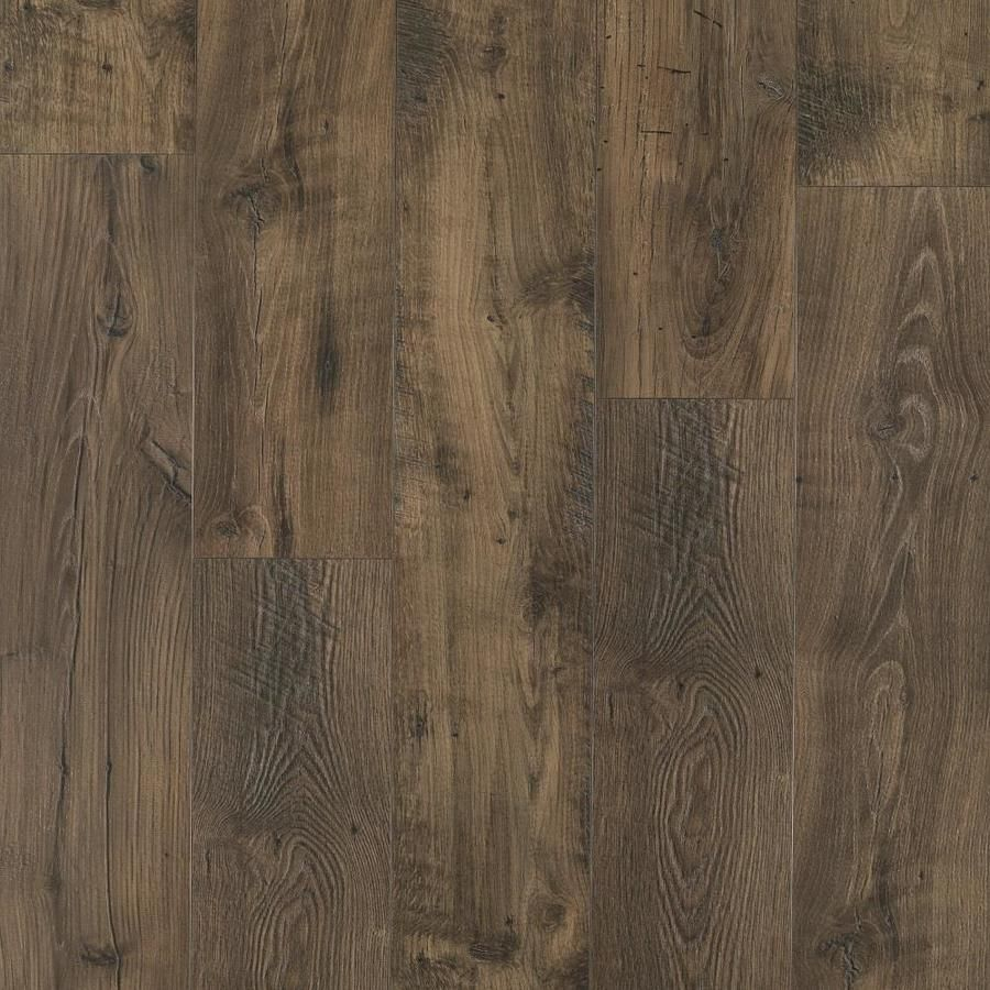 Pergo Portfolio Wetprotect Waterproof Rustic Smoked Chestnut 7 48 In W X 4 52 Ft L Embossed Wood Plank Laminate Flooring Lowes Com Waterproof Laminate Flooring Wood Floors Wide Plank Laminate Flooring