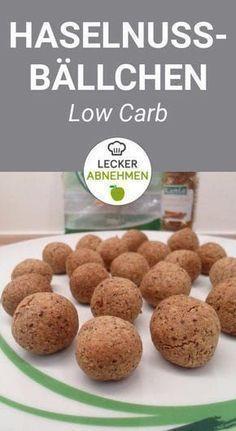 Haselnussbällchen aus 4 Zutaten - Low Carb -