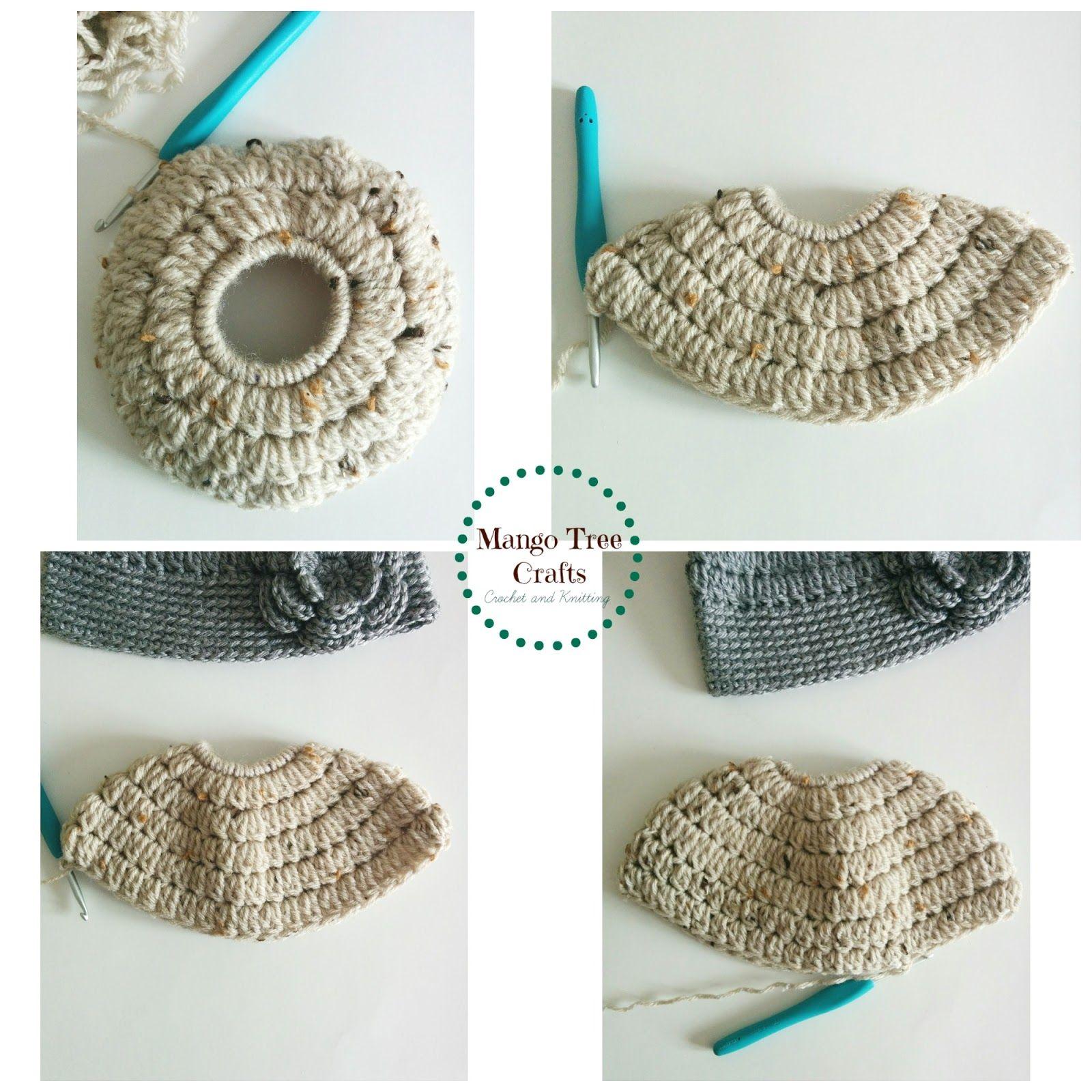 Messy Bun Hat Free Crochet Pattern in 3 Sizes | Messy buns, Hair ...