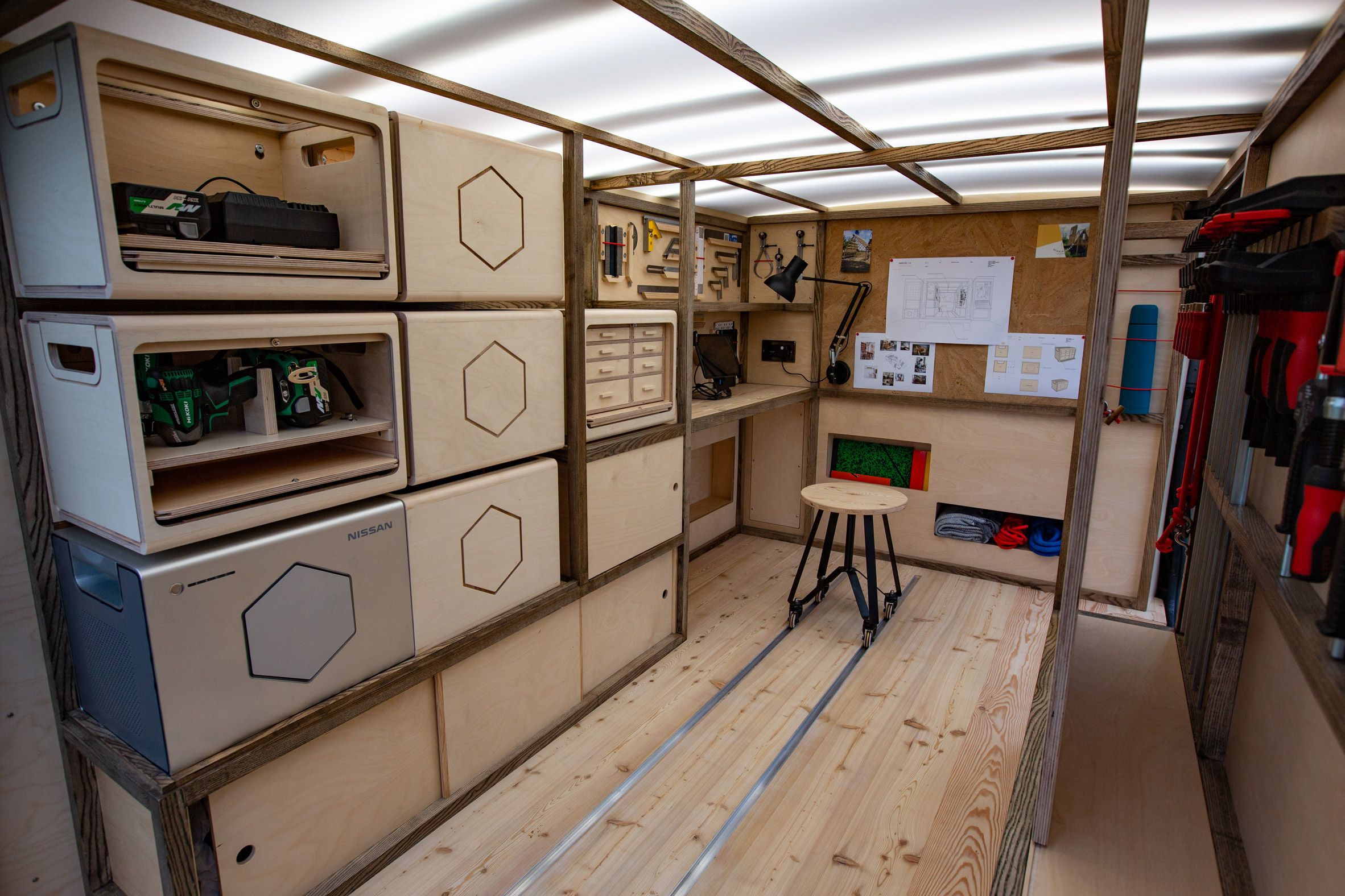 Nissan S Nv300 Concept Van Is A Mobile Hub For Artisans And