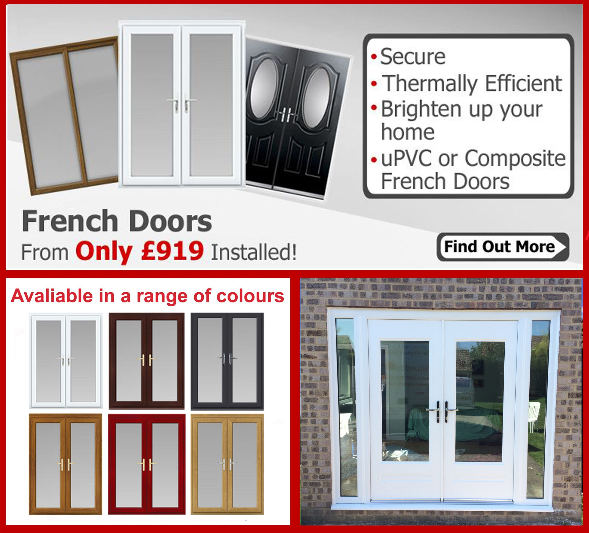 French Doors from Value Doors can help bring light into your home and keep it secure  sc 1 st  Pinterest & French Doors from Value Doors can help bring light into your home ...