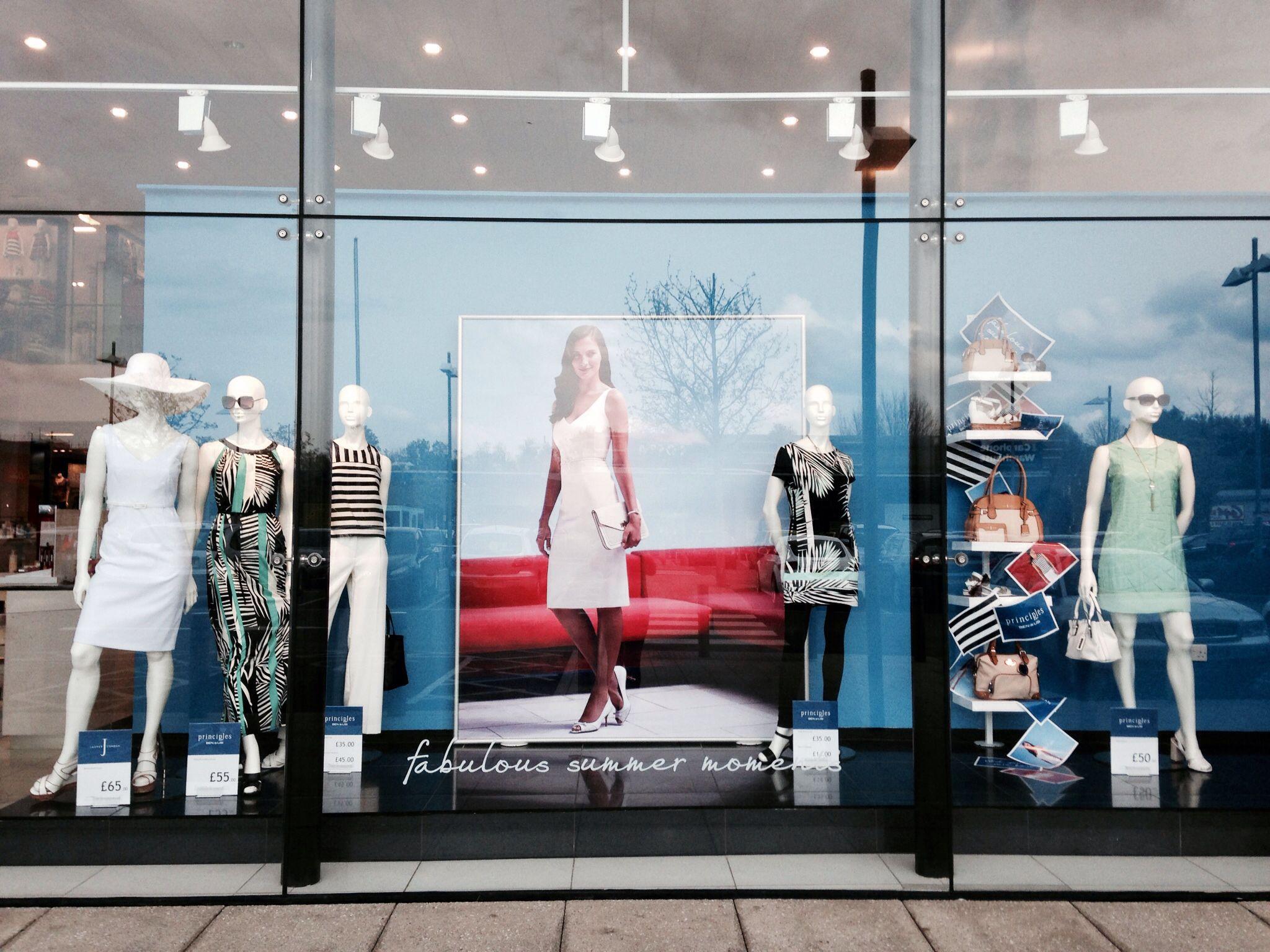 Summer moments jasperconran principles debenhams ss14 debenhamswindow displaysvisual merchandising