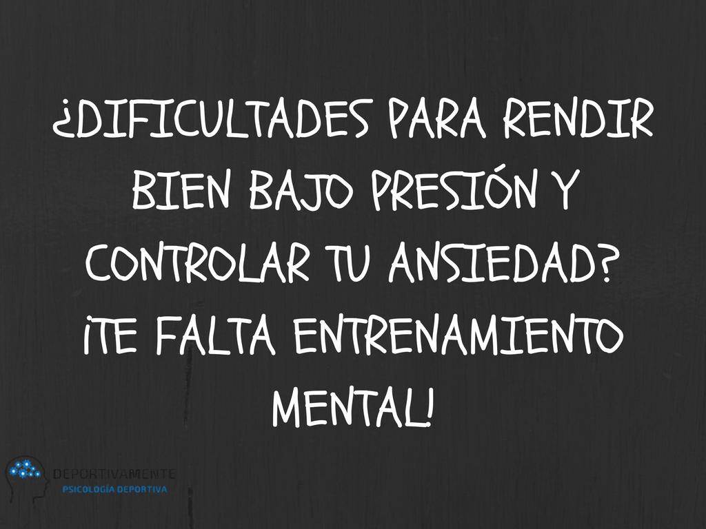 Pin De Deportivamentear En Entrenamiento Mental Psicologia Deportiva Psicologia Mentalidad
