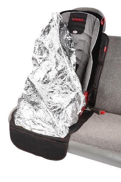 Diono Ultra Mat Deluxe Car Seat Mat With Reflective Sun Cover 60370 Car Seats Baby Car Seats Car Seat Mat