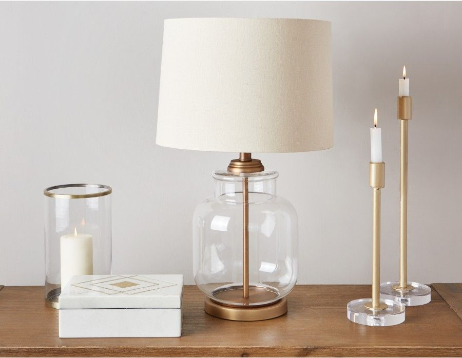 BASTILLE Table Lamp 62cm height (25 Table lamps living