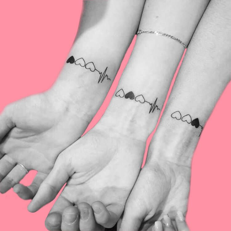 30+ Meaningful Matching BFF Tattoos Designs to Try for Ladies and Sisters - Page 15 of 30 - ShowmyBeauty
