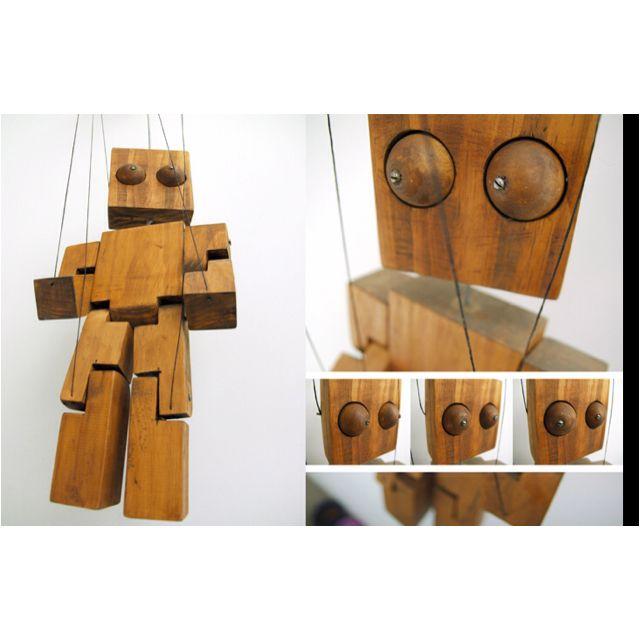 Pequeñas obras de arte. Marionetas de madera