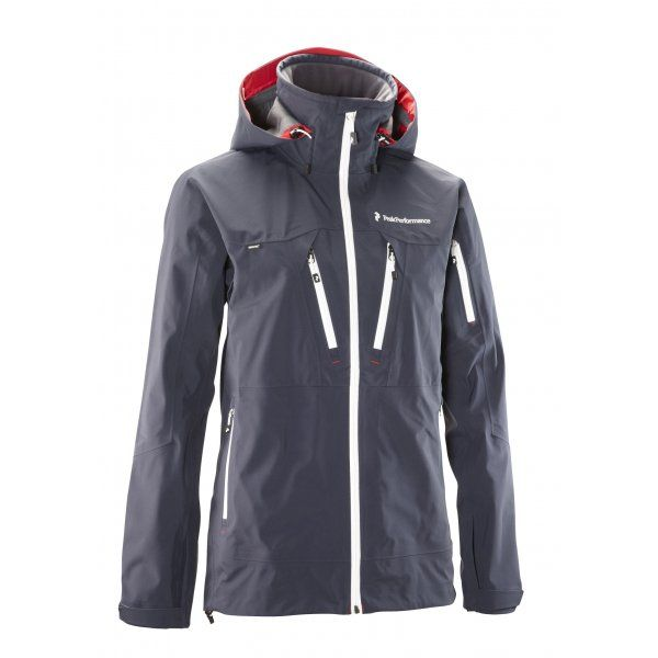Peak Performance Peak Performance Vertigo Softshell Ski Jacket in Blue  Shadow - Peak Performance from White
