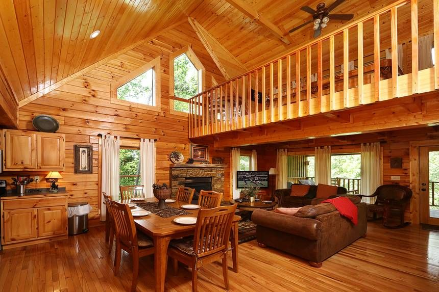 Thunder Mountain Pigeon cabin rentals, Cabin