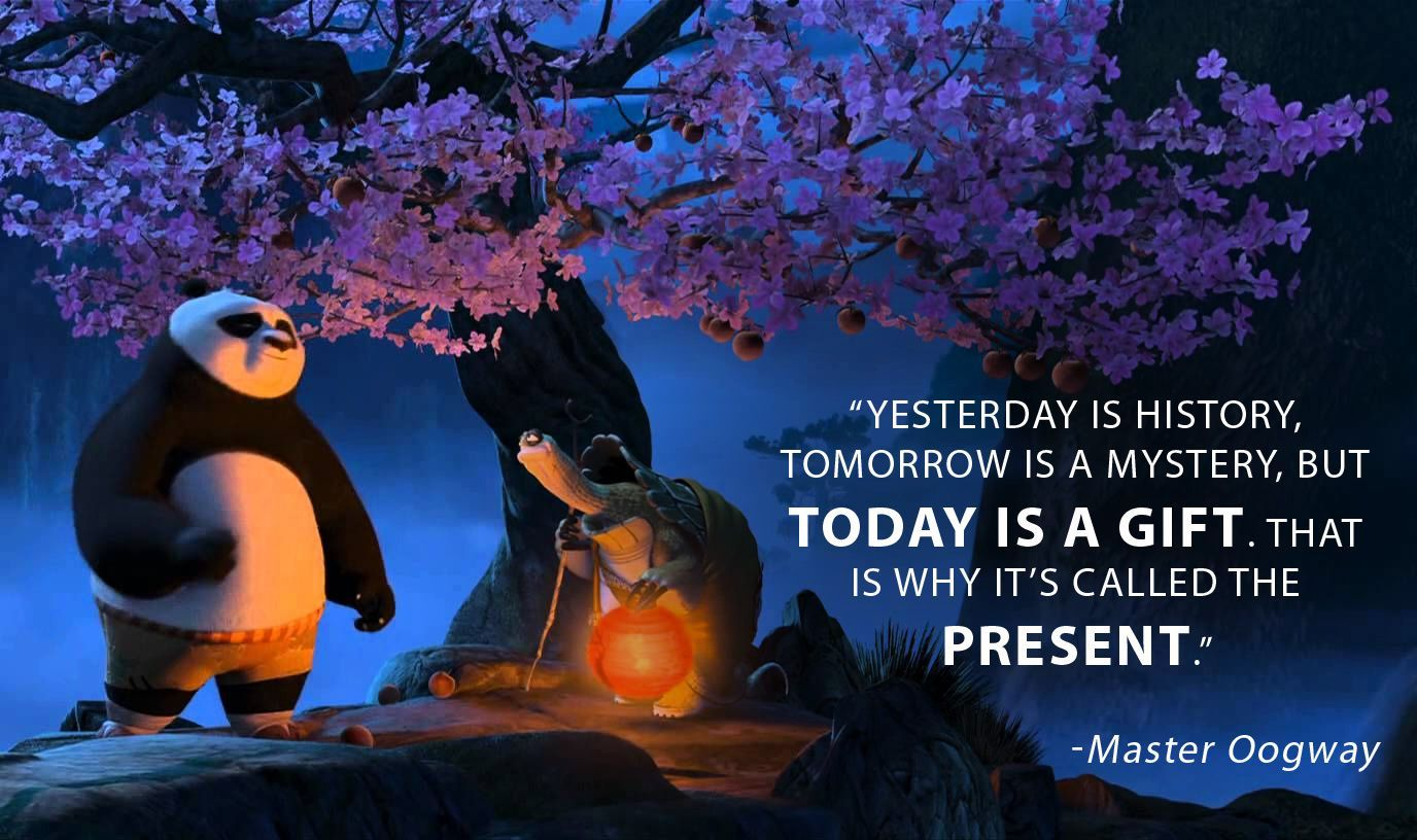 Pin by Bill Ferguson on Room Posters | Kung fu panda quotes, Master oogway,  Mysterious quotes