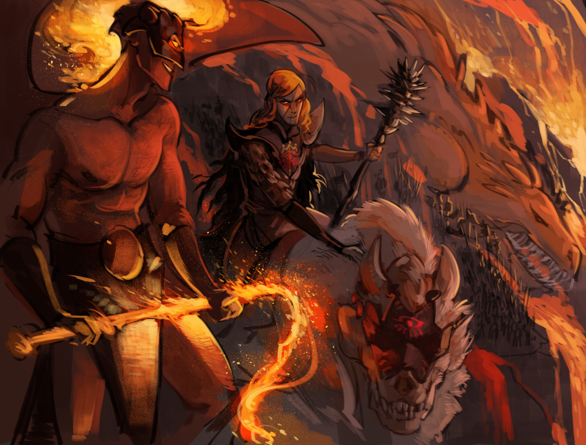 Gothmog & Sauron during Dagor Bragollach   tolkien ...