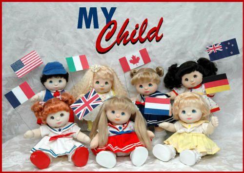 My Child dolls - I still have mine!