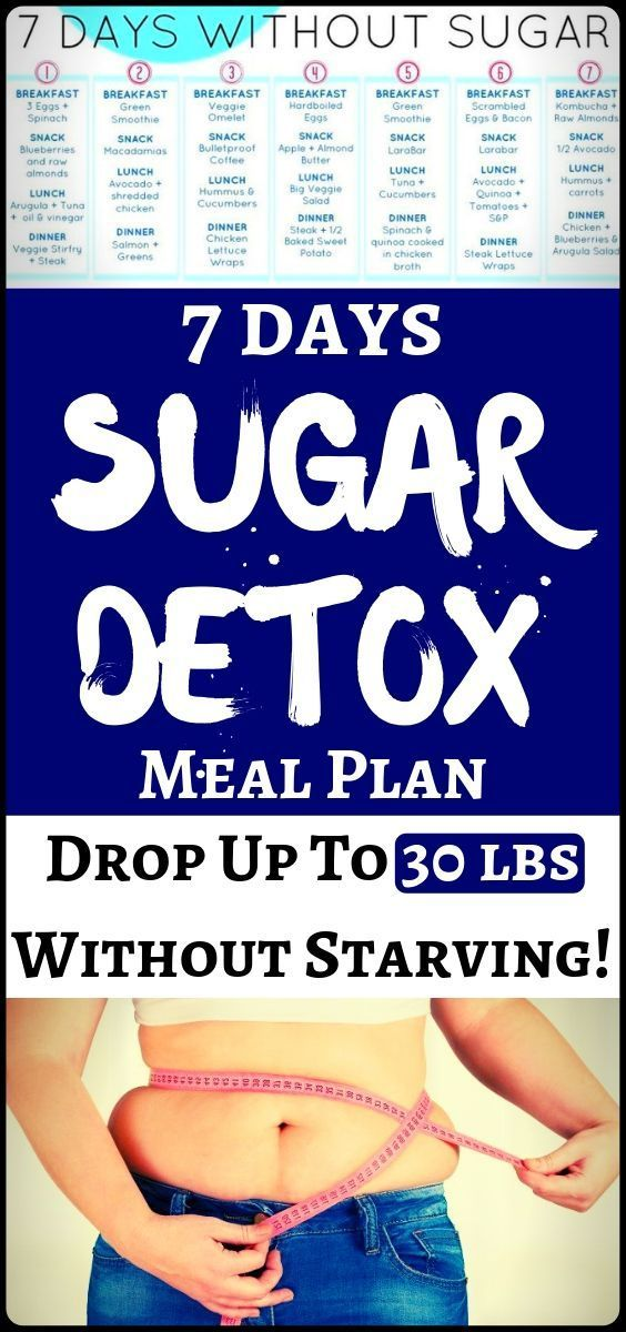 #fitness #weight #health #weight #sugar #detox #days #meal #plan #lose #loss #lbs #and #to #up7 Days...