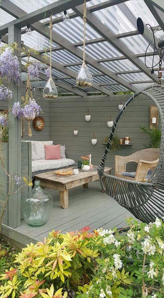 Pin de Lily Arriola en Muebles de jardín | Pinterest | Terrazas ...