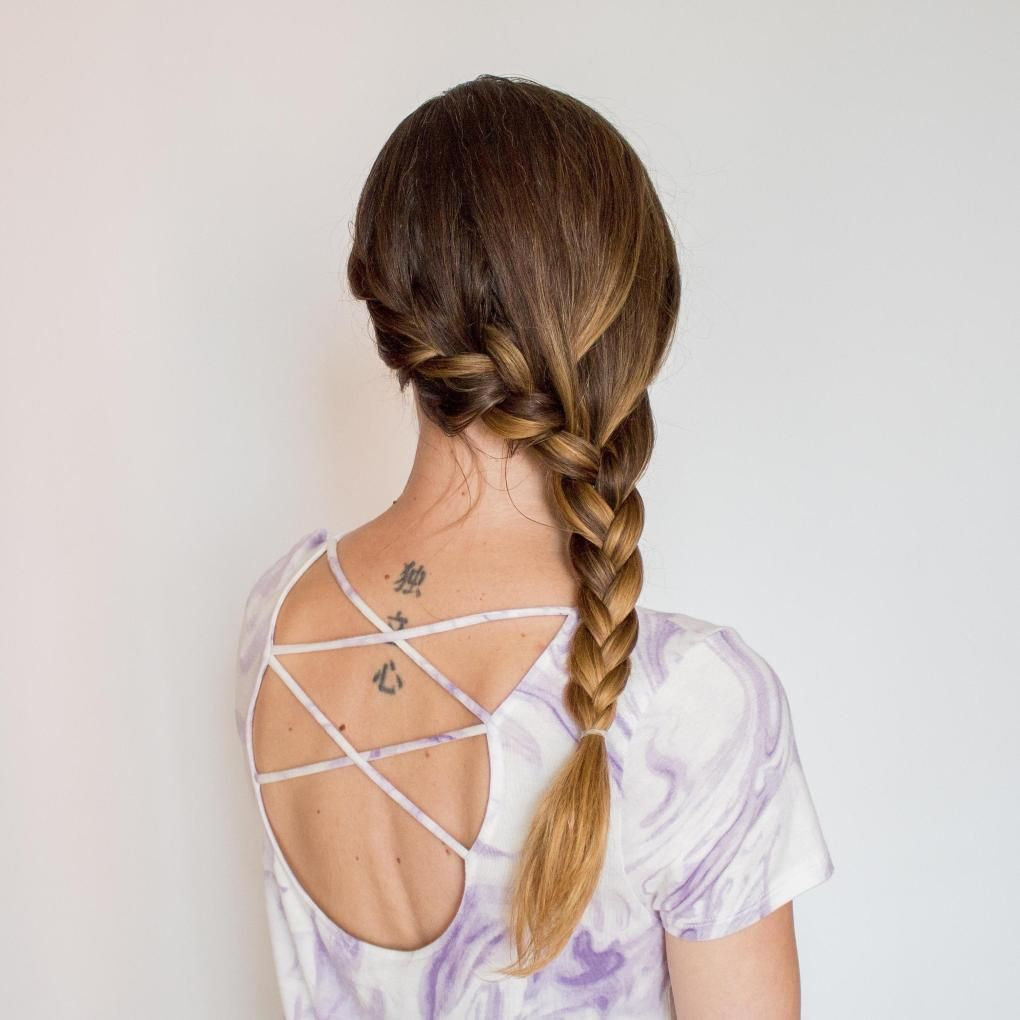 15 Loose French Braid Hairstyles Even The Laziest of Us Can Do