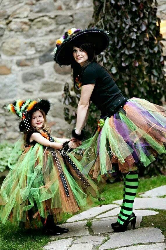 Cute mother daughter costume Halloween Pinterest Mother - cool halloween ideas