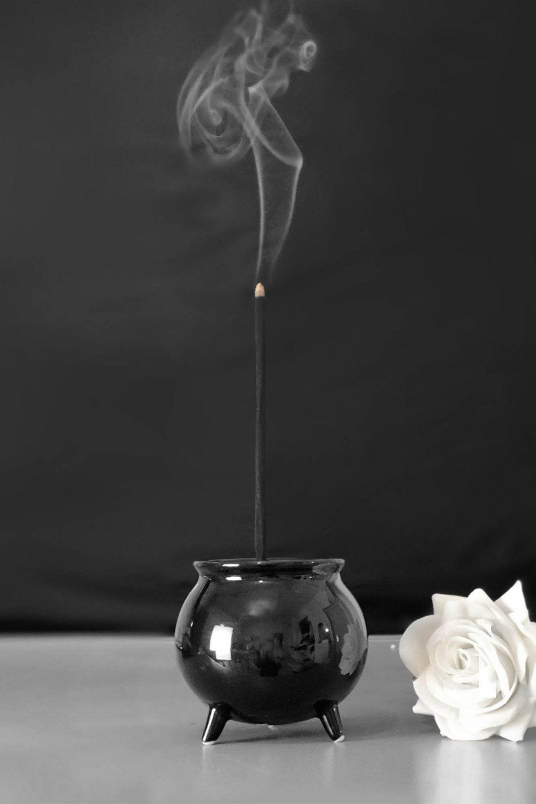 Photo of Cauldron Incense Burner – One Size / Black
