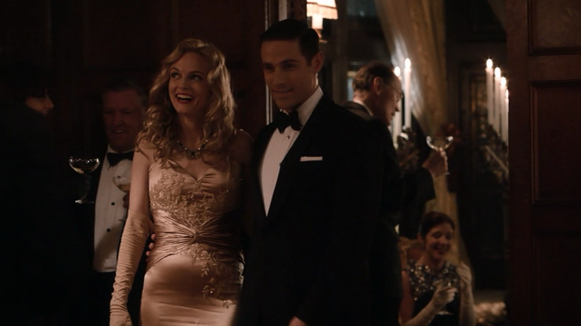 Corrine and Bart and Corrine's Dress | Dylan bruce, Dylan, Party scene