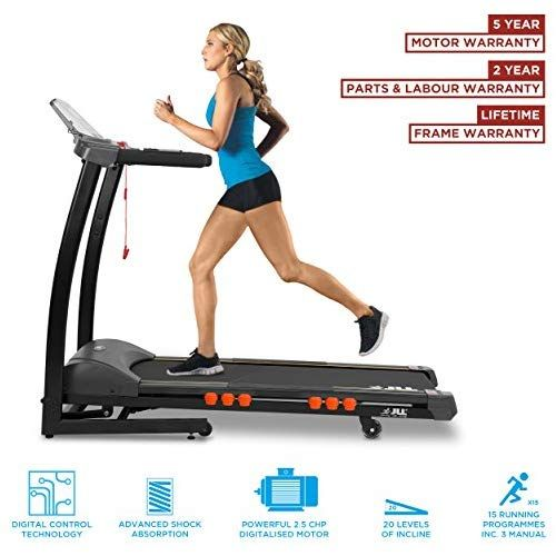 JLL S300 Digital Folding Treadmill, 2019 New Generation