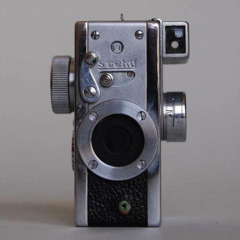 Miniature Minox Spy Camera