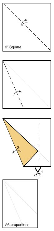 how to make an envelope from rectangle