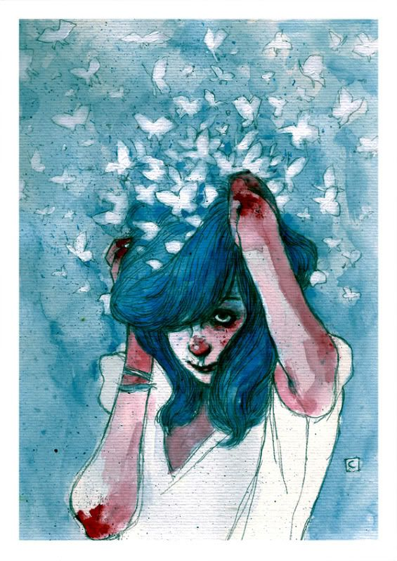 Conrad Roset more like a painting then a drawing but I love it