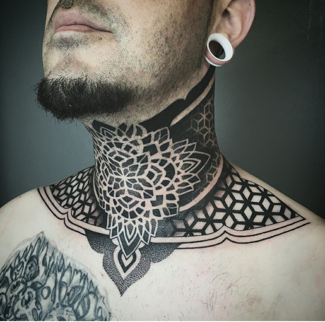 Effedots Neck Tattoo For Guys Tattoos For Guys Neck Tattoo