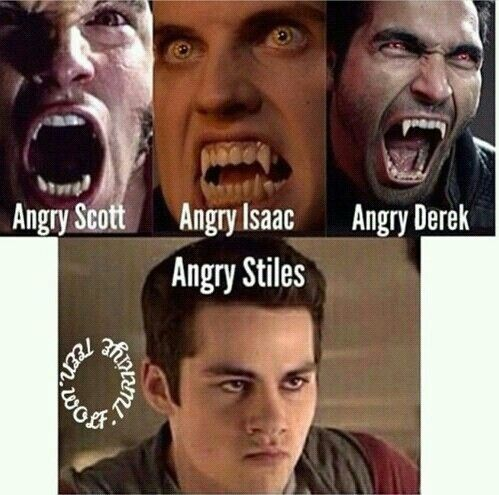 Teen Wolf Angry