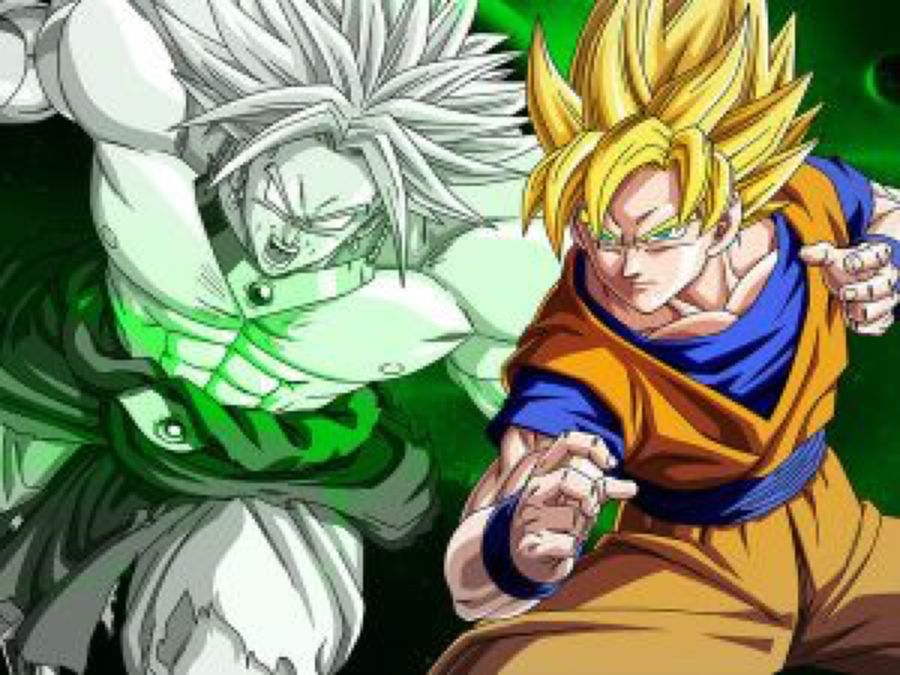 Wallpaper Broly Vs Goku By Dony910 On DeviantArt