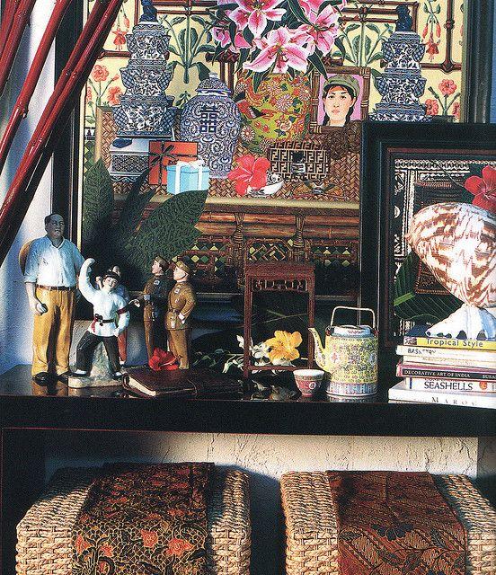 Stuart Membrey's studio by midcenturyjo, via Flickr
