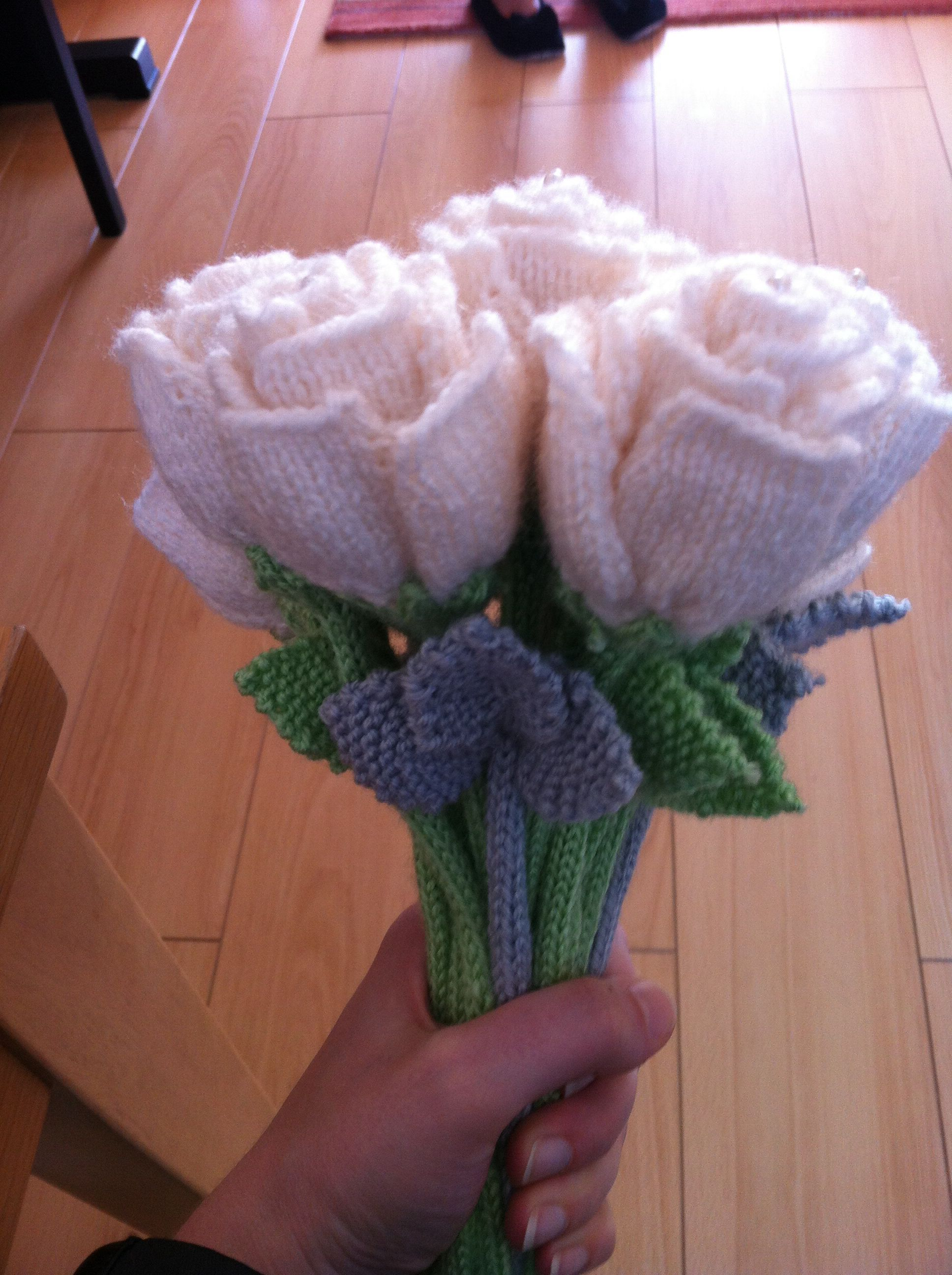 Knitted Bouquet | AMIGURUMI | Pinterest | Knitted flowers, Knitting ...