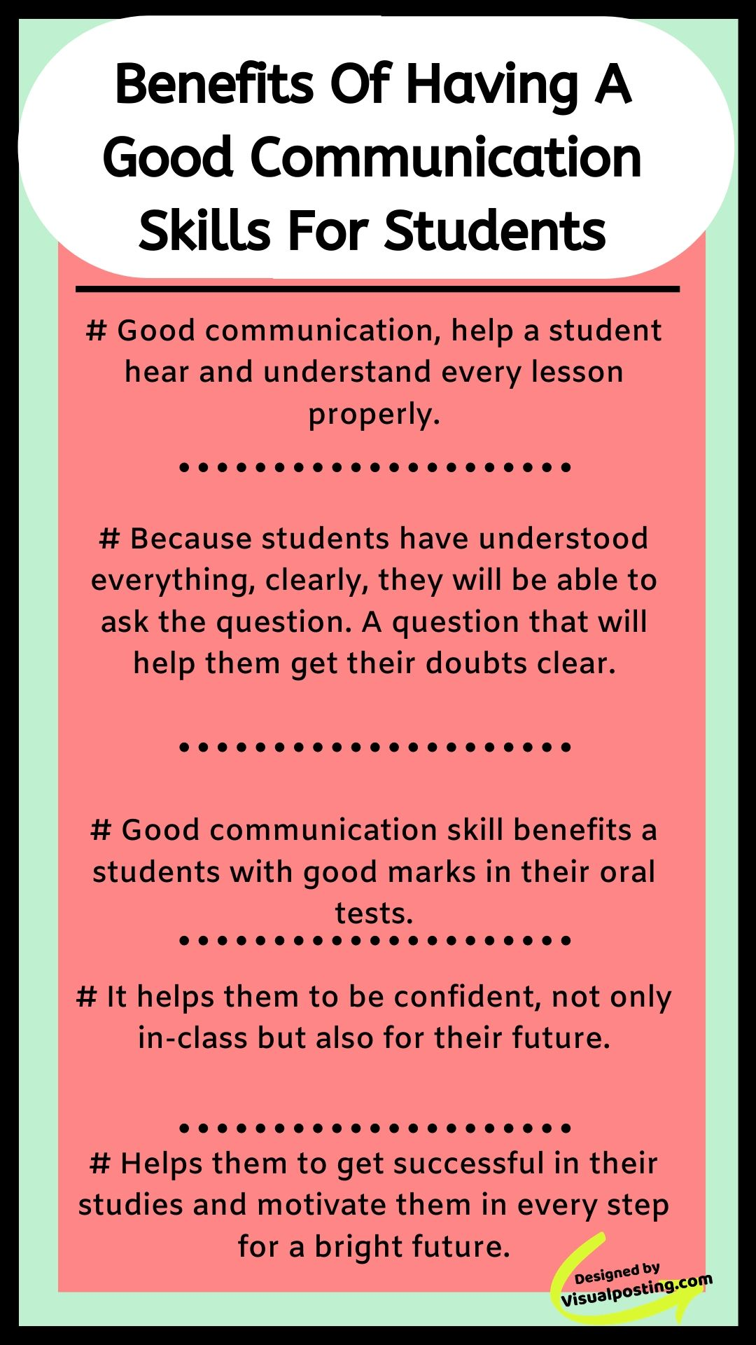 Benefits Of Having Good Communication Skills For Students Good Communica Good Communication Skills Improve Communication Skills Effective Communication Skills
