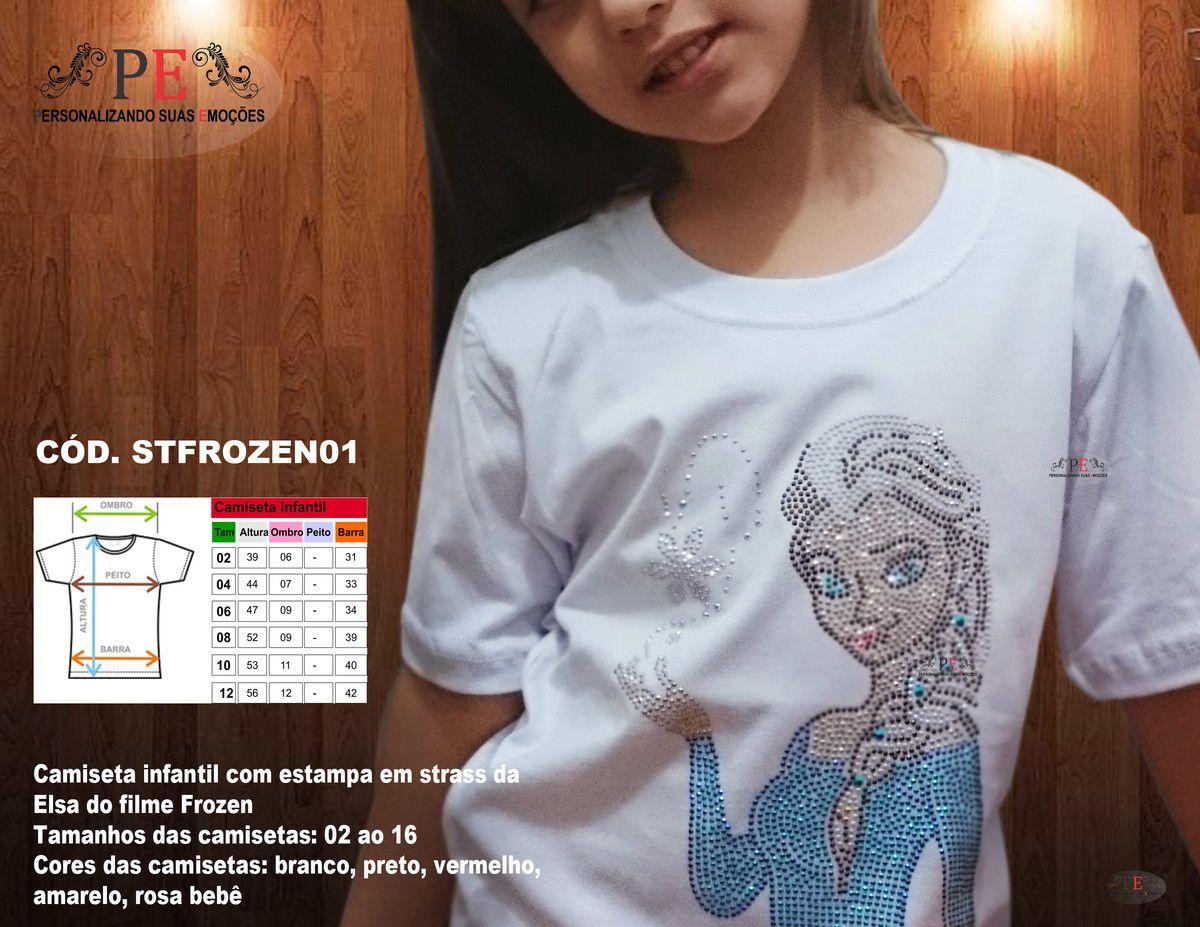 af550d15b6 Camiseta infantil 100% algodão