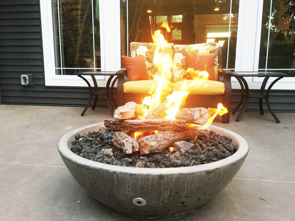 How to Build A Fire Pit Kit with a Propane Tank Fire pit