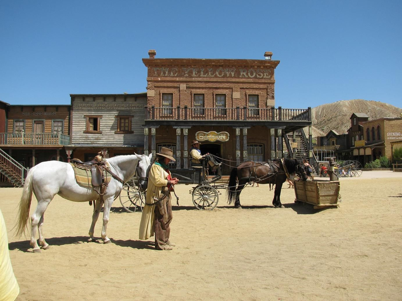 Place: Fort Bravo - Texas Hollywood, Tabernas, Almería / Andalucía, Spain. Photo by: Unknown