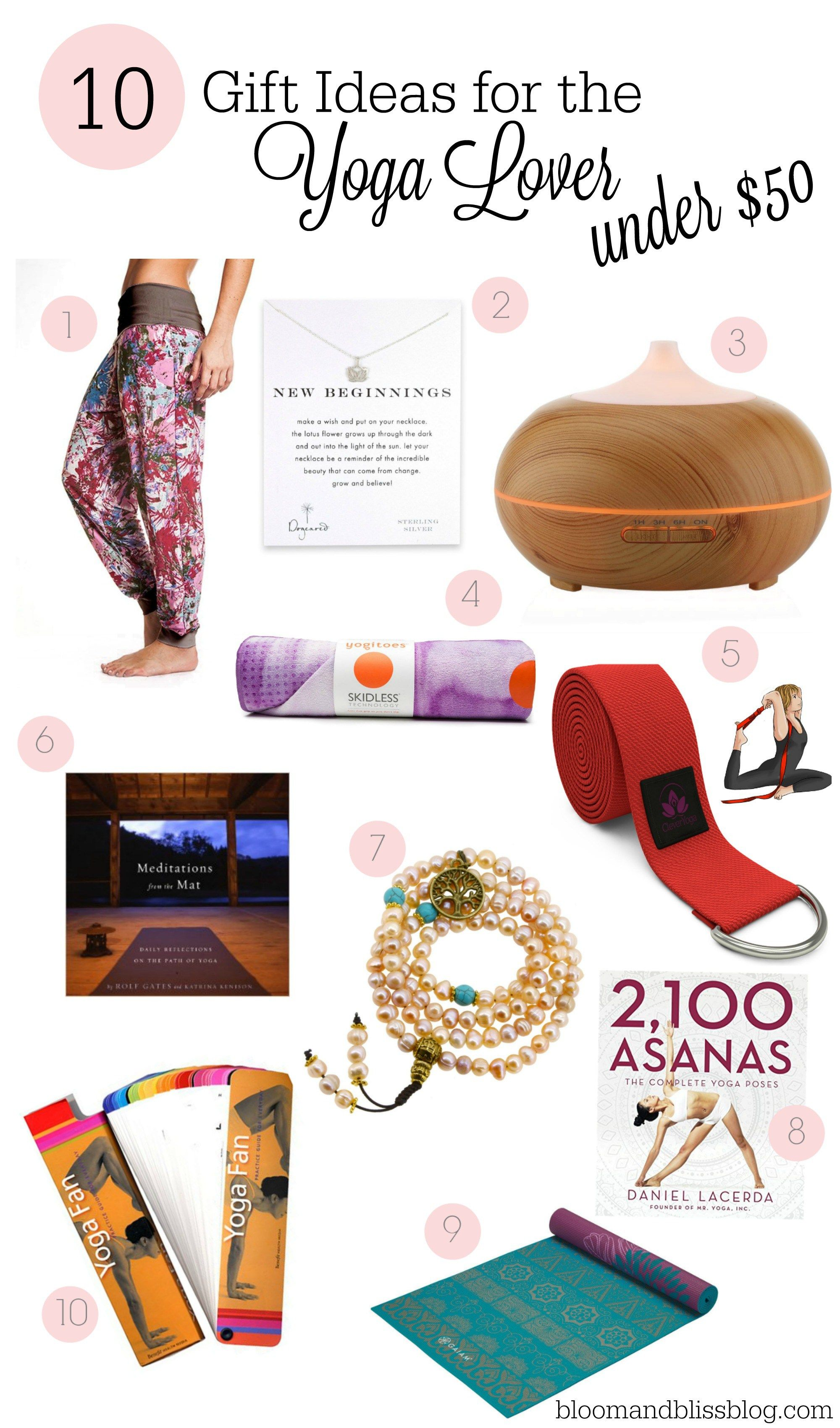 gifts for yoga lovers india