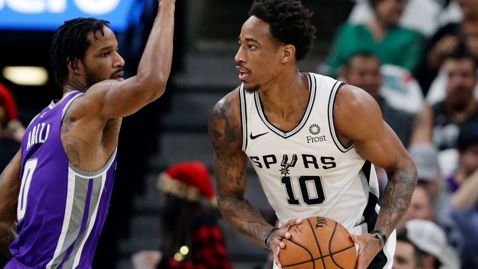 NBA admits missed call at end of Kings' loss to Spurs