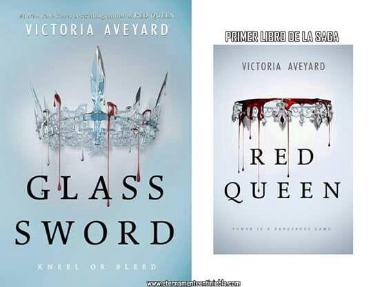 """Portada revelada: """"Glass Sword"""" de Victoria Aveyard, segundo libro dela saga """"Red Queen"""".  Es hermoso ♡ *o*  Ya quiero leerlo *w* pero me conformo a que sea Octubre para tenerlo en mis manos *~*"""