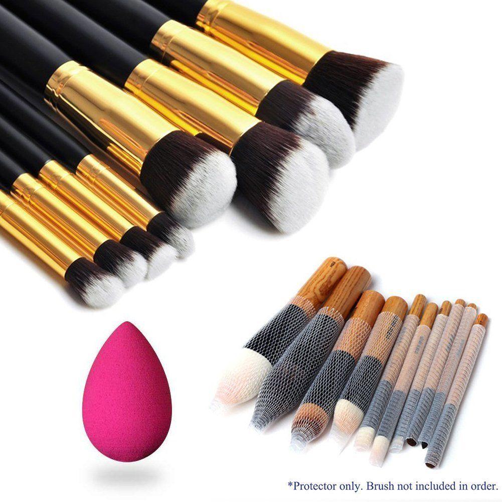 Magik 8pcs Premium Synthetic Hair Essential Makeup Brushes