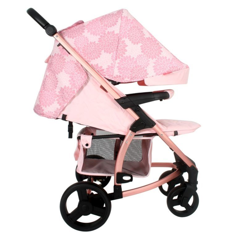 Katie Piper MB200+ Rose Gold Floral Travel System (With