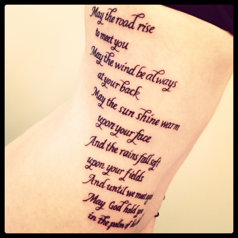 Old irish benediction memorial tattoo ink pinterest old irish benediction memorial tattoo biocorpaavc