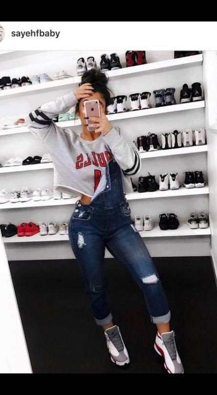 Super Sneakers Outfit Jordan Women 21 Ideas