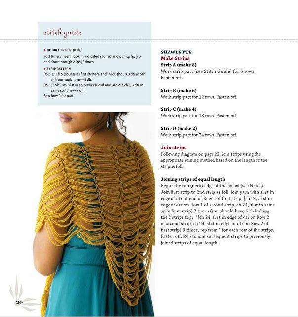 Patrones para Crochet: Irresistible Proyecto Chal Lazos Loop | Chals ...