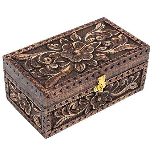 Handmade Wooden Keepsake Box 8 X 45 35 Inches Store